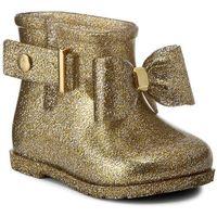 Kalosze MELISSA - Mini Melissa Sugar Rain Bow Bb 31815 Glass Sliver Glitter 03586