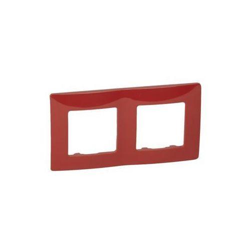 Legrand niloe ramka podwójna czerwona 665022 (3245066650227)