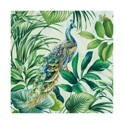 Serwetki Peacock 33 x 33 cm 20 szt. (5906360093926)