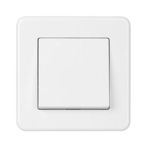 Schneider electric Włącznik schodowy leona biały (3606481276612)