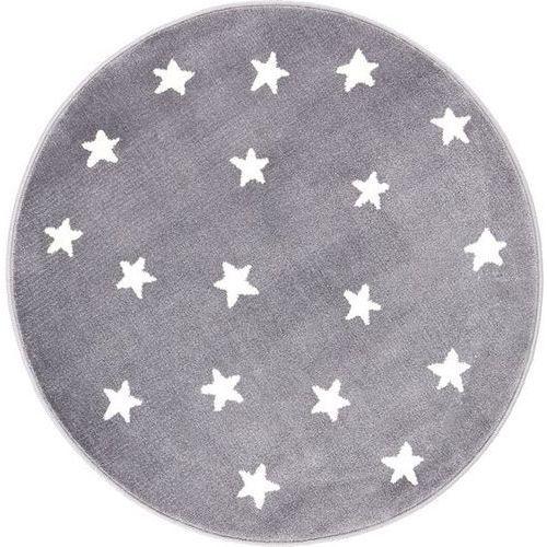 Dywan soft gwiazdy granite/granit (koło) 80x80 marki Agnella