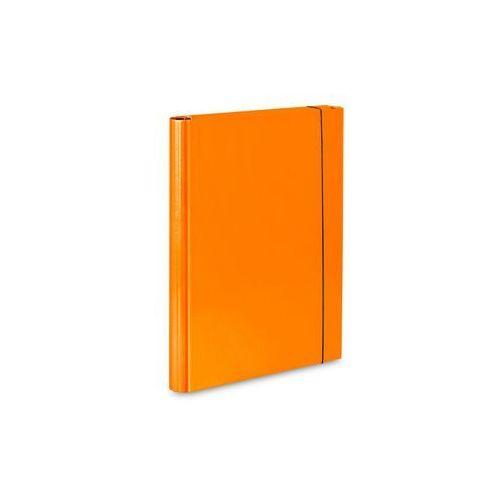 Vaupe Teczka skrzydłowa z gumką  caribic a4 339/16 pomarańczowa