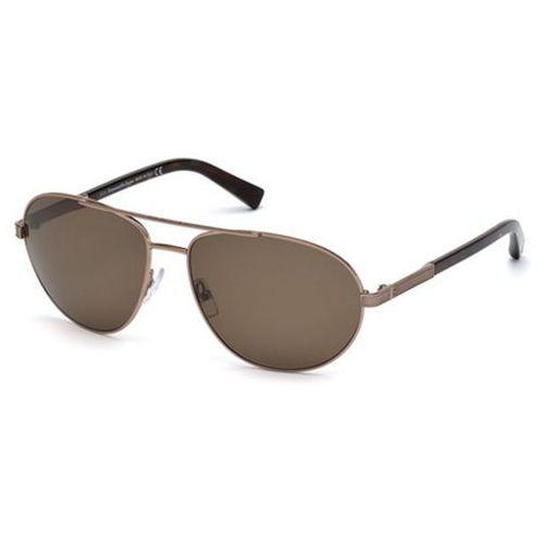 Okulary słoneczne ez0011 polarized 34m marki Ermenegildo zegna