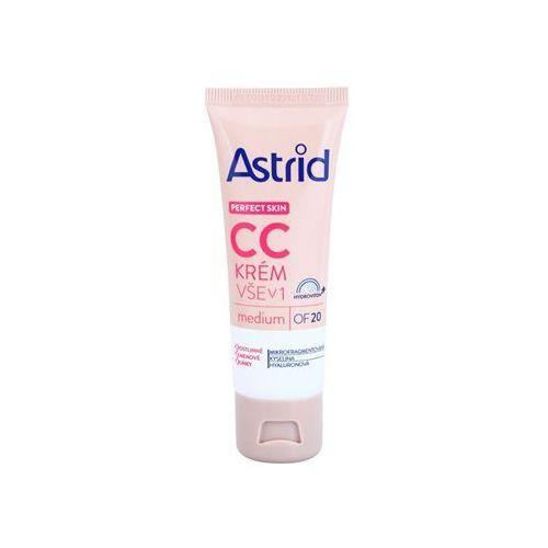 Astrid Perfect Skin krem CC SPF 20 odcień Medium 40 ml ()