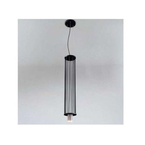 Lampa wisząca ihi 9007/g9/cz/kolor druciana oprawa metalowy zwis tuba marki Shilo