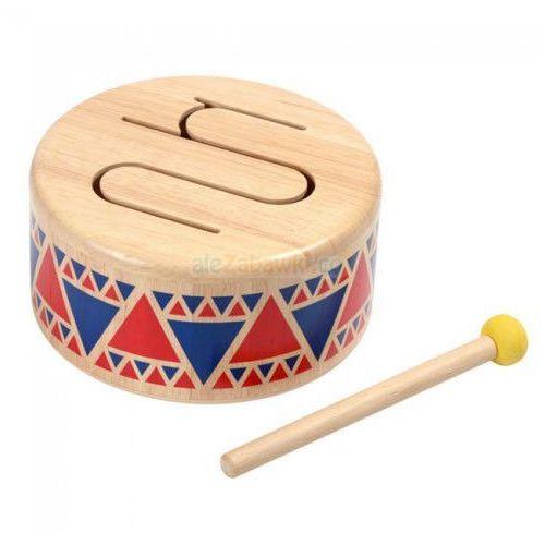 Plan toys Drewniany bębenek - , plan creations company limited, kategoria: zabawki drewniane