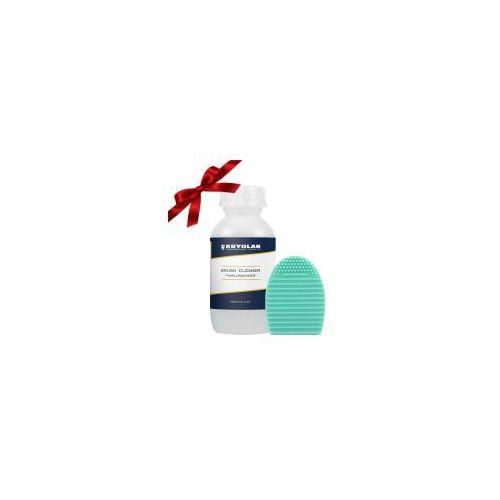 Prezent: Brushegg + płyn do czyszczenia pędzli Kryolan 100ml