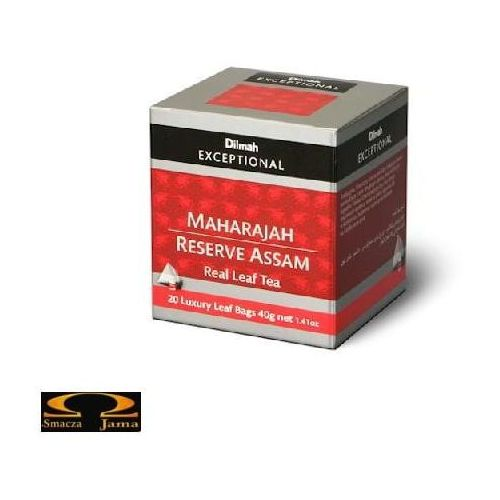 Herbata Dilmah Maharajah Reserve Assam 20 torebek