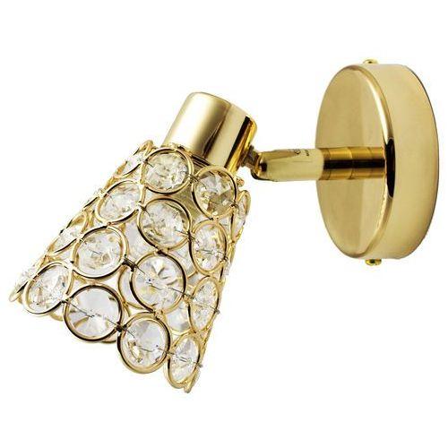 Candellux Oprawa lampa ścienna glossy 1x40w g9 złota 91-97432