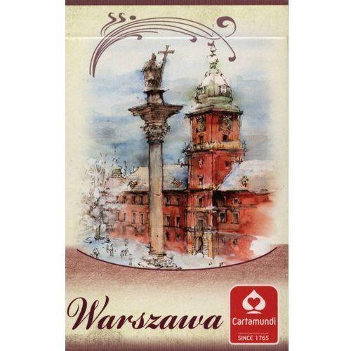 karty warszawa akwarele 2x55 marki Cartamundi