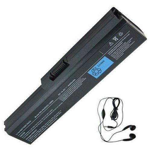amsahr 3634 – 03 do bateria do Toshiba PA3634, M800, M801, M802, M803, M805 – zawierają Stereo Słuchawki douszne Czarny, 3634