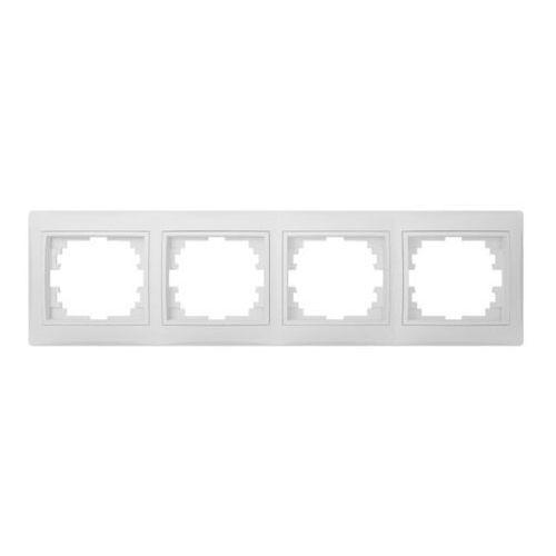 KANLUX DOMO 01-1490-002 bi Ramka poczwórna, pozioma 24765 (5905339247650)