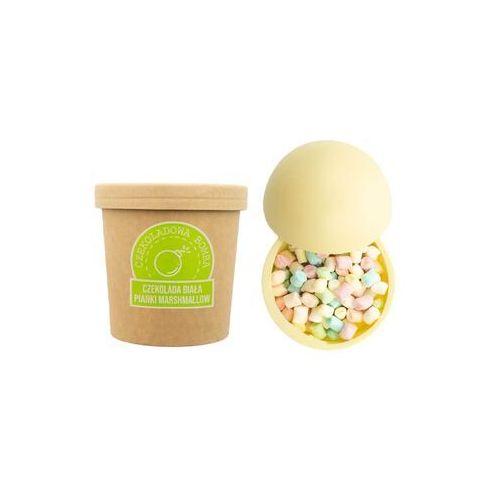 Cup&you cup and you Czekoladowa bomba biała z piankami marshmallow - gorąca czekolada z kubkiem prezent na wielkanoc