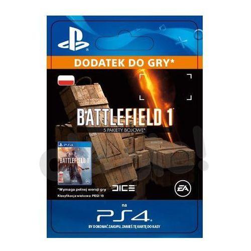 Sony Battlefield 1 - 5 pakiety bojowe [kod aktywacyjny] (0000006200182)