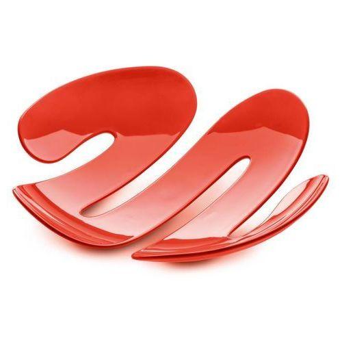 Patera EVE - pomarańczowo-czerwona - ceglasty
