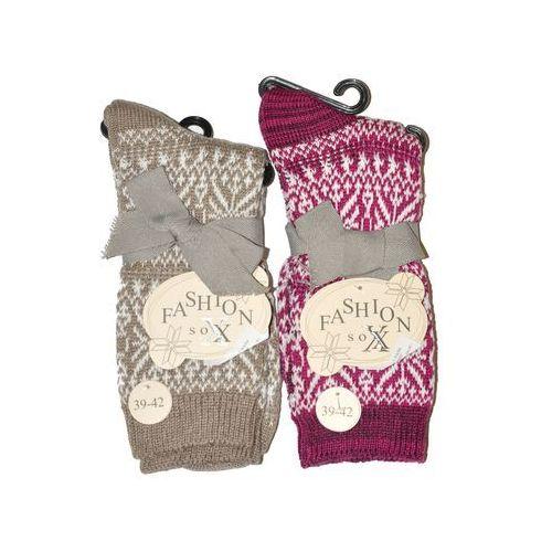 Skarpety fashion sox art.38908 damskie 39-42, wielokolorowy. wik, 35-38, 39-42, Wik