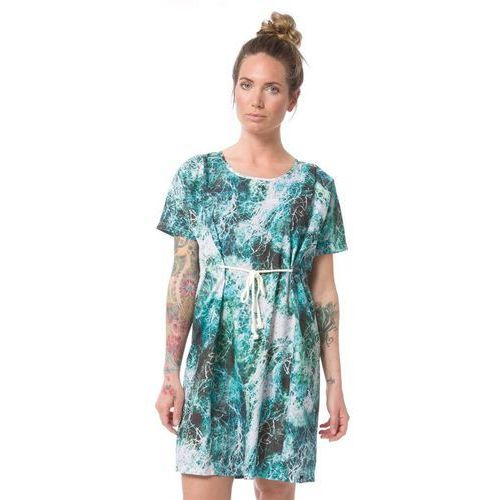 sukienka NIKITA - Uxi Sea Rope Print Ocean (SEO), kolor zielony