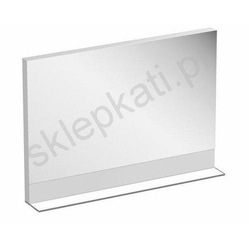 RAVAK Formy lustro 120 x 15,5 x 72 cm - półeczka z matowego szkła, kolor Dąb X000001048, kolor dąb