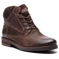 Kozaki LASOCKI FOR MEN - MI08-C393-422-01 Brązowy Ciemny, kolor brązowy