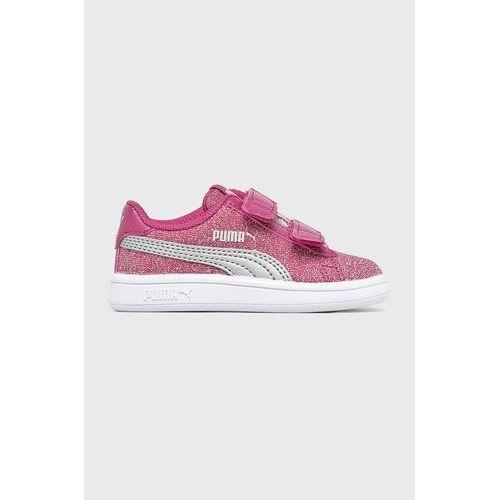 - buty dziecięce smash v2glitz glamv inf marki Puma