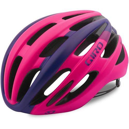 Giro saga kask rowerowy kobiety różowy/fioletowy s | 51-55cm 2018 kaski rowerowe (0768686076947)