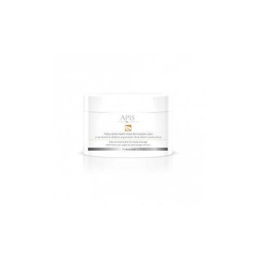 Apis orange terapis naturalne masło shea z marokańskim olejkiem arganowym do masażu ciała 200g marki Apis professional