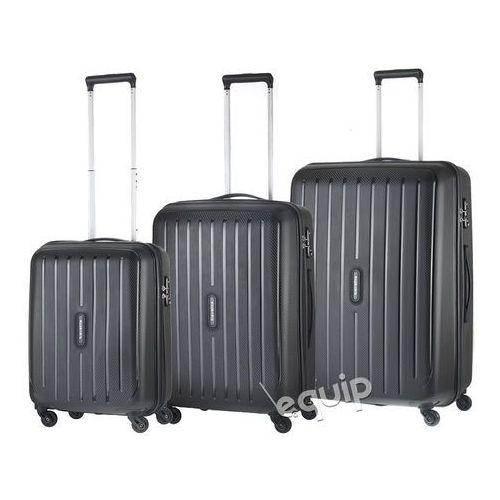 Travelite Zestaw walizek  uptown - czarny, kategoria: torby i walizki