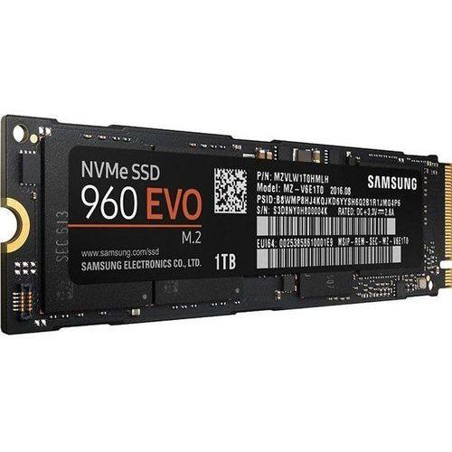 Dysk SSD Samsung 960 Evo 1TB M.2 PCIe (MZ-V6E1T0BW) Darmowy odbiór w 20 miastach!