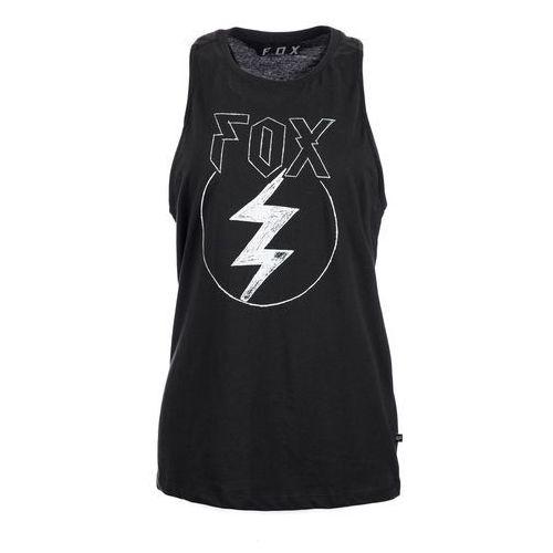 Fox koszulka bez rękawów damska repented aiirline s czarny