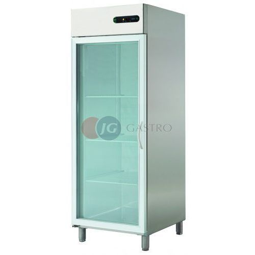 Szafa chłodnicza 1-drzwiowa przeszklona 700 l ECP-701 GLASS L
