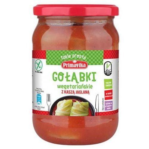 Gołąbki wegetariańskie z kaszą jaglaną bezglutenowe 550g - Primavika (5900672302288)