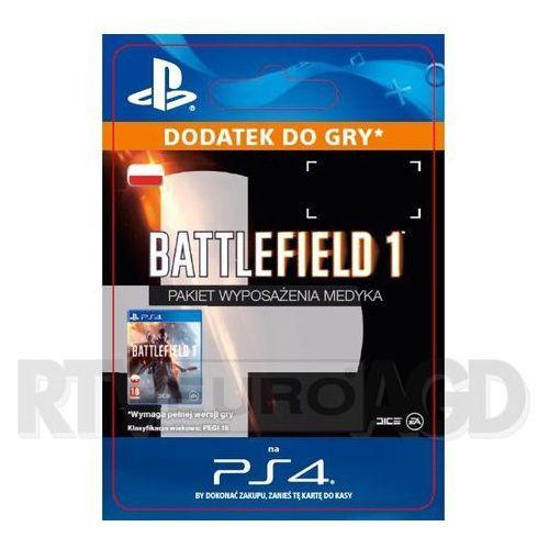 Sony Battlefield 1 - pakiet wyposażenia medyka [kod aktywacyjny]