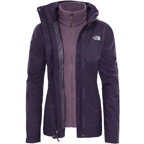 Kurtka The North Face Evolve II Triclimate T0CG56374, kolor fioletowy