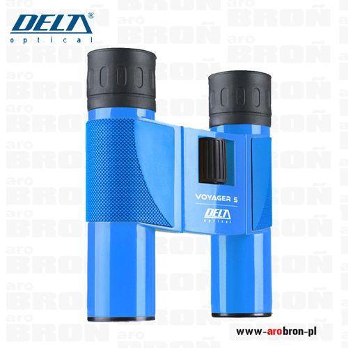 Lornetka voyager s 10x25 - kolor niebieski, turystyczna, lekka marki Delta optical