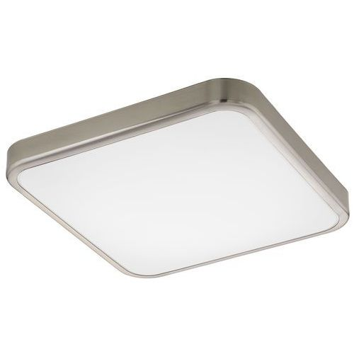 Plafon manilva 1 96231 lampa sufitowa 1x16w led biały / nikiel mat marki Eglo