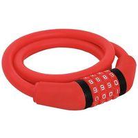 Vogel Zapięcie rowerowe  vzp-008 szyfr czerwony + trzecie akcesorium gratis! + zamów z dostawą jutro! (5902270720716)
