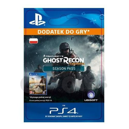 Tom clancy's ghost recon wildlands - season pass [kod aktywacyjny] marki Sony