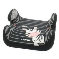 Nania Fotel samochodowy topo comfort zebra 2017, 15-36kg czarna/szara