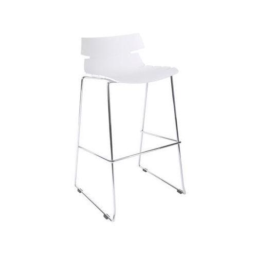 D2 6974 stołek barowy techno biały