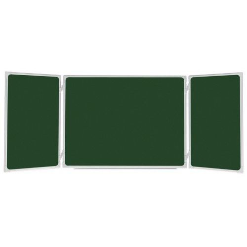 Tablica szkolna  tryptyk 170x100/340 ceramiczna zielona wyprodukowany przez 2x3