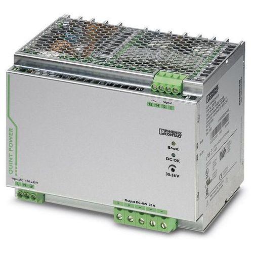 Zasilacz na szynę DIN Phoenix Contact QUINT-PS/ 1AC/48DC/20 48 V/DC 20 A 960 W 1 x (4046356547727)