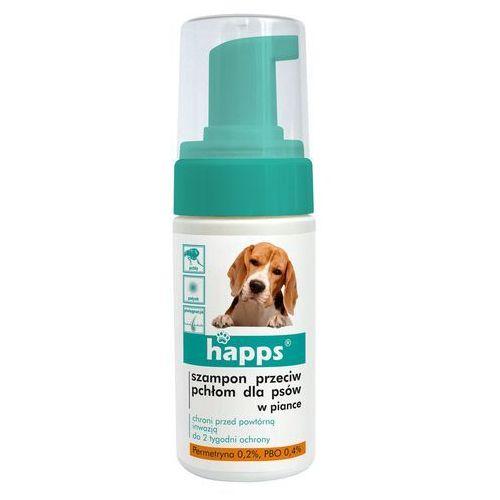 Happs szampon przeciw pchłom dla psów w płynie 150 ml