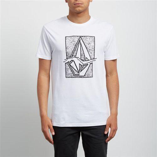 koszulka VOLCOM - Rip Stone Bsc Ss White (WHT) rozmiar: XL, 1 rozmiar