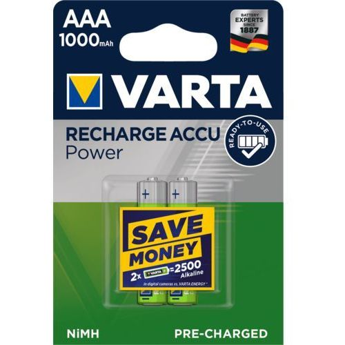 2 x Varta Ready2use R03/AAA 1000mAh (4008496538621)