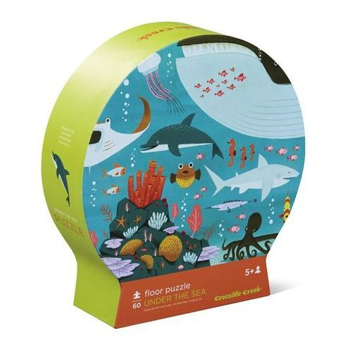 Puzzle 60 el. - podwodny świat marki Crocodile creek