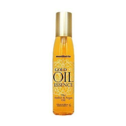 Montibello Gold Oil Essence, olejek bursztynowo-arganowy, wzmacnia i nawilża 130ml (8429525110155)