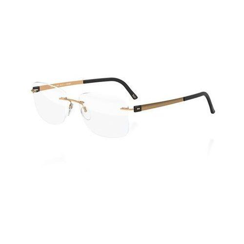 Okulary korekcyjne  titan accent 5450 6051 marki Silhouette