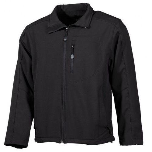Kurtka mfh fox-out soft shell lusen 94% polyester 6% elastan black (03451a) marki Max fuchs (mfh)