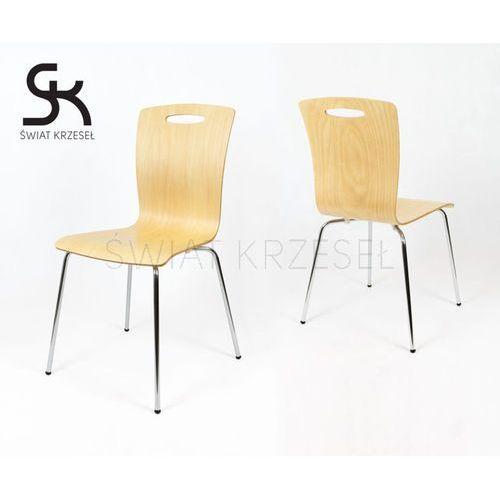 Sk design  skd002 nat krzesło naturalne drewno - drewno naturalne