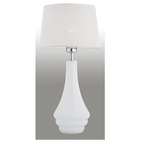 Lampa nocna Argon Amazonka 3029 z abażurem 60W E27 biała, 3029